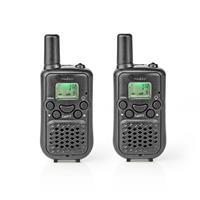 WLTK0500BK Walkie-talkie Bereik 5 Km 8 Kanalen Vox 2 Stuks Zwart