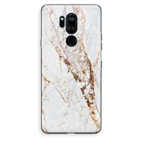 G7 Thinq Transparant Hoesje (Soft) - Goud marmer