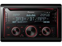 pioneer FH-S820DAB Autoradio dubbel DIN DAB+ tuner, Bluetooth handsfree, AppRadio