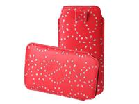 Ascend p6 Bling Sleeve rood