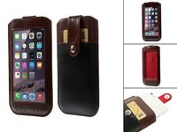 View Cover  Ascend g6 4g hoesje bruin