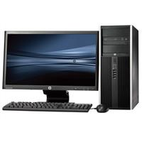"hp Pro 6200 Tower - Intel Pentium G840 - 4GB - 250GB HDD + 24"" Widescreen LCD"