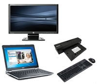 "dell Latitude E6230 - Intel Core i5 - 4GB - 320GB HDD + Docking + 24"" Widescreen Monitor"