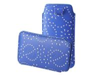 Iphone 4s Bling Sleeve navy