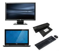 "dell Latitude E7240 - Intel Core i5 - 8GB - 120GB SSD + Docking + 24"" Widescreen Monitor"