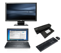 "dell Latitude E6520 - Intel Core i5 - 4GB - 320GB HDD + Docking + 24"" Widescreen Monitor"