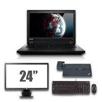 "lenovo Thinkpad L440 - Intel Core i5 - 4GB - 320GB HDD + Docking + 24"" Widescreen Monitor"