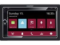blaupunkt Autoradio met scherm dubbel DIN  Oslo 590 DAB Bluetooth handsfree, Camper-/vrachtwagensoftware, DAB+ tuner, Incl. DAB-antenne, Incl.