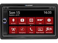blaupunkt Autoradio met scherm dubbel DIN  Las Vegas 690 DAB Bluetooth handsfree, Aansluiting voor achteruitrijcamera, Aansluiting voor stuurbediening, DAB+