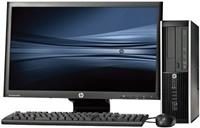 "hp Pro 6300 SFF - Intel Core i7 - 4GB - 500GB HDD + 24"" Widescreen LCD"