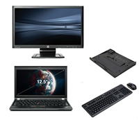 "lenovo Thinkpad X230 - Intel Core i5 - 4GB - 320GB HDD + Docking + 24"" Widescreen Monitor"