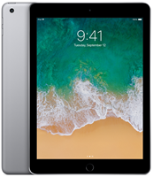Apple iPad 5 (2017) - 32 GB - Space Gray - 4G - A Grade
