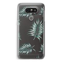 G5 Transparant Hoesje - Simple leaves