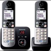 Panasonic KX-TG6822GB telefoon DECT-telefoon Zwart, Zilver Nummerherkenning