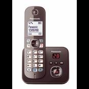 Panasonic KX-TG6821GA telefoon DECT-telefoon Bruin Nummerherkenning
