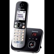Panasonic KX-TG6821GB telefoon DECT-telefoon Zwart Nummerherkenning
