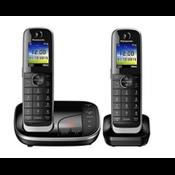 Panasonic KX-TGJ322 DECT-telefoon Zwart Nummerherkenning