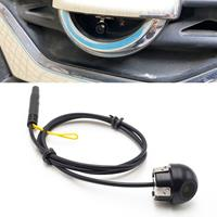 640x480 Pixel Waterproof Car Auto-gevoeligheid 12 mm Mini Straw Hat Achteraanzicht Back-up achteruitrijcamera