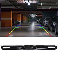 4039 LED 0.3MP Security Backup Parking IP68 Waterdichte achteruitrijcamera, PC7070 sensor, ondersteuning nachtzicht, brede kijkhoek: 170 graden (zwart)