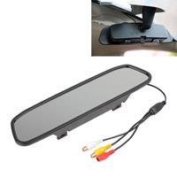 PZ-705 4,3 inch TFT LCD Car achteruitkijkspiegelmonitor voor auto achteruitkijkparking videosystemen