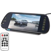 PZ-710 7.0 inch TFT LCD Car achteruitkijkspiegelmonitor met afstandsbediening, ondersteuning Bluetooth / MP5-speler