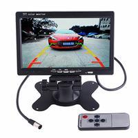 PZ-607 Backup-camera voor voertuigvrachtwagen en monitor Infrarood nachtzicht Achteruitrijcamera met 7 inch HD-monitor