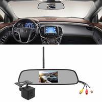 PZ611-W IP67 120 graden auto achteruitkijkspiegel monitor