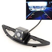 656x492 Effectieve Pixel HD Waterdicht 4 LED Nachtzicht Groothoek Auto Achteruitrijcamera Backup Reverse Camera voor Honda City 2014