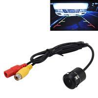 16,5 mm waterdichte achteruitrijcamera voor auto-GPS, brede kijkhoek: 120 graden (DM1637) (zwart)