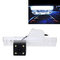 656x492 effectieve pixel NTSC 60Hz CMOS II waterdichte auto achteruitrijcamera achteruitrijcamera met 4 LED-lampen voor overzeese editie JingCheng