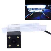 656× 492 effectieve pixel NTSC 60Hz CMOS II waterdichte auto achteruitrijcamera achteruitrijcamera met 4 LED-lampen voor 2016 versie Kadjar