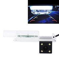 656x492 effectieve pixel NTSC 60Hz CMOS II waterdichte auto achteruitrijcamera achteruitrijcamera met 4 LED-lampen voor Golfversie 2014-2016