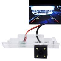 656x492 effectieve pixel NTSC 60Hz CMOS II waterdichte auto achteruitrijcamera achteruitrijcamera met 4 LED-lampen voor BMW 120i / 135i / 640i / Z4