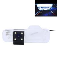 656x492 effectieve pixel NTSC 60Hz CMOS II waterdichte auto achteruitrijcamera achteruitrijcamera met 4 LED-lampen