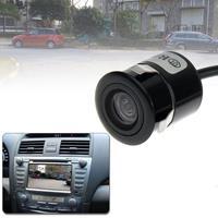 Waterdichte bedrade Punch DVD achteruitrijcamera met schaalplaat, ondersteuning geïnstalleerd in auto DVD Navigator of automonitor, brede kijkhoek: 170 graden (WD004) (zwart)