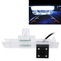 656x492 effectieve pixel NTSC 60Hz CMOS II waterdichte auto achteruitrijcamera achteruitrijcamera met 4 LED-lampen voor 2016 versie BWM 1-serie Hatchback Clubman