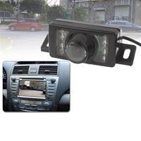 LED-sensor Auto achteruitrijcamera, ondersteuning kleurenlens / 120 graden zichtbaar / waterdicht en nachtsensorfunctie (E350) (zwart)