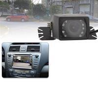 LED-sensor Auto achteruitrijcamera, ondersteuning kleurenlens / 135° zichtbaar / waterdicht en nachtsensorfunctie (E327) (zwart)