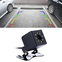 308 LED 0.3MP Beveiliging Backup Parking IP68 Waterdichte achteruitrijcamera, PC7070 sensor, ondersteuning nachtzicht, brede kijkhoek: 170 graden (zwart)