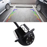 8028 LED 0.3MP Security Backup Parking IP68 Waterdichte achteruitrijcamera, PC7070 sensor, ondersteuning nachtzicht, brede kijkhoek: 170 graden (zwart)