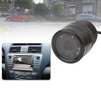 LED-sensor Auto achteruitrijcamera, ondersteuning kleurenlens / 120 graden zichtbaar / waterdicht&nachtsensorfunctie, diameter: 31 mm (E328) (zwart)