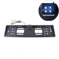 JX-9488 720× 540 effectieve pixel NTSC 60Hz CMOS II universele waterdichte achteruitrijcamera voor auto-achteruitrijcamera met 2W 80LM 5000K wit licht 4LED-lamp, DC 12V, draadlengte: 4m