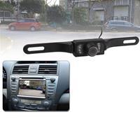 LED-sensor Auto achteruitrijcamera, ondersteuning kleurenlens / 135 graden zichtbaar / waterdicht en nachtsensorfunctie (E300) (zwart)