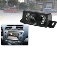 7 LED IR infrarood waterdicht nachtzicht Bedrade korte lens DVD achteraanzicht, met schaalplaat, ondersteuning geïnstalleerd in auto DVD Navigator of automonitor, brede kijkhoek: 140 graden (YX00