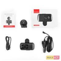 Modecom MC-CC15. HD type: Full HD, Hoofdcamera resolutie: 1920 x 1080 Pixels, Hoofdcamera sensorresolutie: 12 MP. Beeldscherm: LCD, Beeldschermdiagonaal: 7,62 cm (3). Compatibele geheugenkaarten: