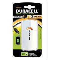 Duracell 3 uurs mobiele oplader - Wit