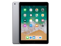 Refurbished iPad 2018 32GB WiFi zwart/space grijs