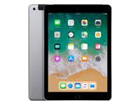 Apple Refurbished iPad 2018 32GB WiFi + 4G zwart/space grijs
