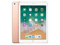 Refurbished iPad 2018 32GB WiFi goud