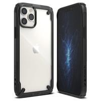 Ringke Fusion X iPhone 12/12 Pro Hybrid Case - Zwart